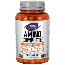 NOW Amino Complete - 120 Capsule