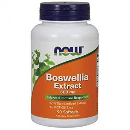 NOW Boswellia Extract 500mg - 90 Softgels