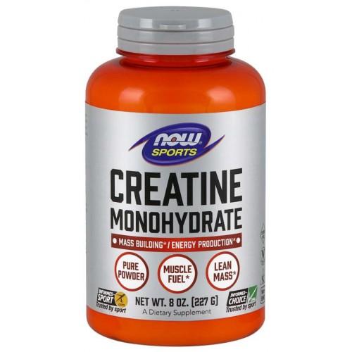 NOW Creatina Monohidrata - 227g