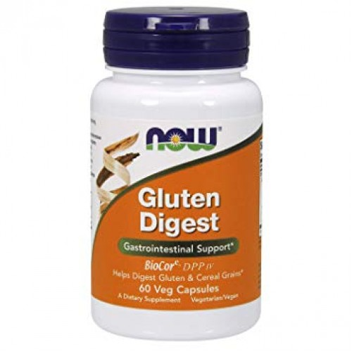 NOW Gluten Digest - 60 Capsule Vegetariene