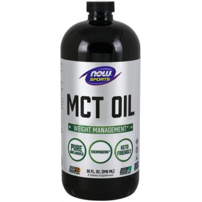 NOW MCT Oil, Controlul greutatii - 947ml