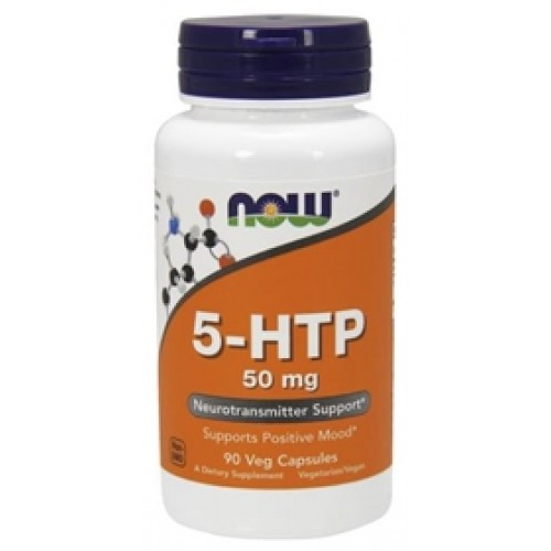 NOW 5-HTP 50mg - 90 Capsule