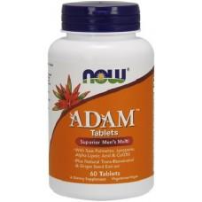 NOW Adam Multivitamine pentru Barbati - 60 Tablete