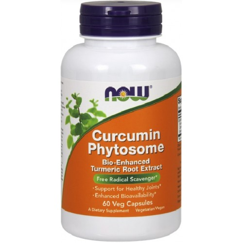 NOW Bio-Curcumin Phytosome 500mg - 60 Capsule