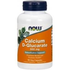 NOW Calciu D-Glucarat 500mg - 90 Capsule vegetale