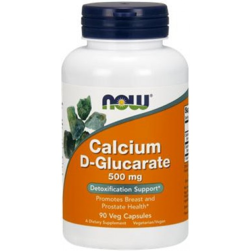 NOW Calciu D-Glucarat 500mg - 90 Capsule vegetale