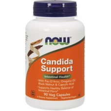 NOW Candida Support - 90 Capsule vegetale