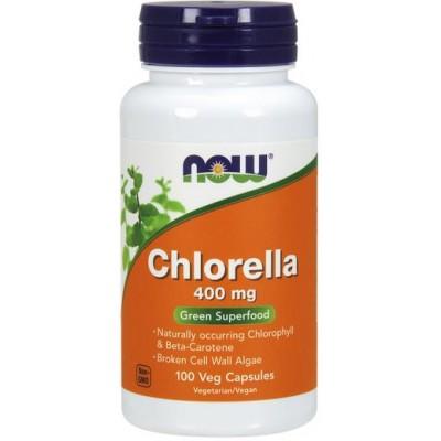 NOW Clorela 400mg - 100 Capsule vegetale