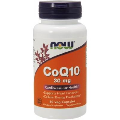NOW Coenzima Q10 30mg - 60 Capsule vegetale