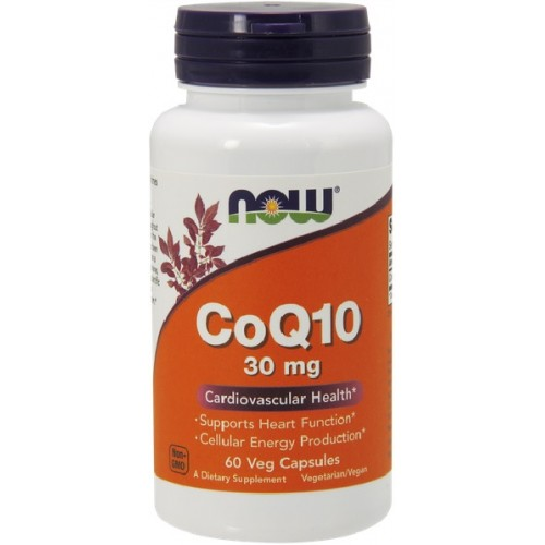 NOW Coenzima Q10 30mg - 60 Capsule
