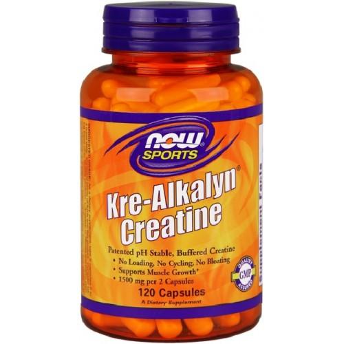 NOW Creatina Kre-Alkalyn - 120 Capsule