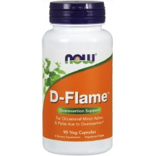NOW D-Flame - 90 Capsule vegetale