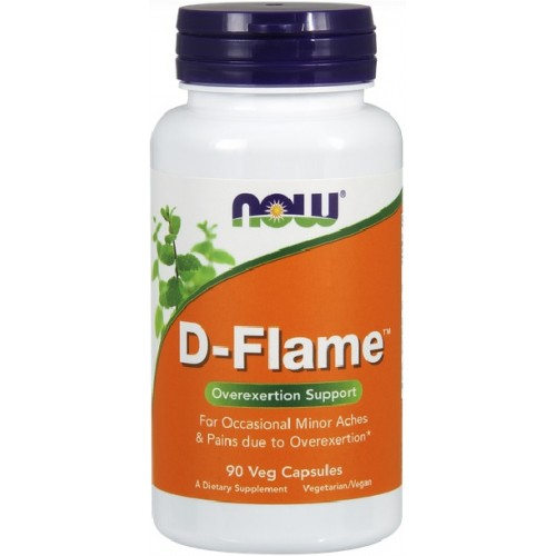NOW D-Flame - 90 Capsule