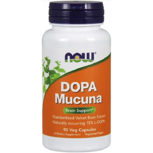 NOW DOPA Mucuna - 90 Capsule
