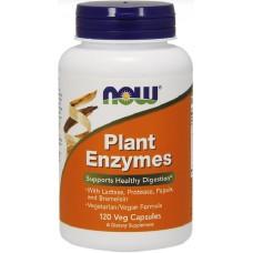 NOW Enzime din Plante - 120 Capsule vegetale
