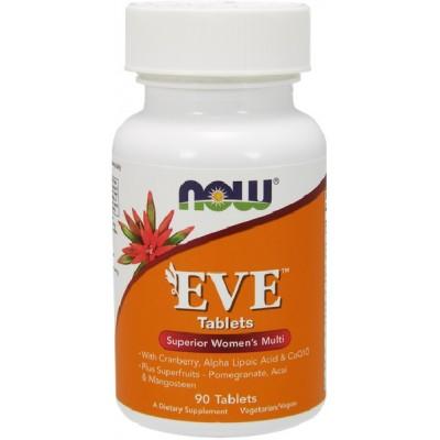 NOW Eve Multivitamine pentru Femei - 90 Tablete