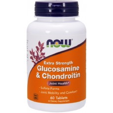 NOW Glucosamina si Condroitina 750/600mg - 60 Tablete