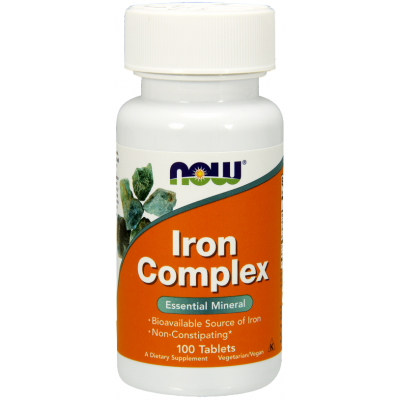 Now Iron Complex Vegetarian - 100 Tablete
