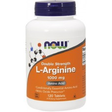 NOW L-Arginina 1000mg - 120 Tablete