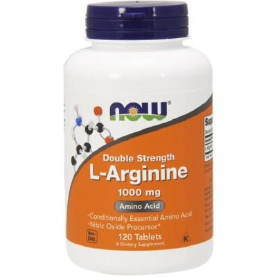 NOW L-Arginina 1000mg - 120 Tablete