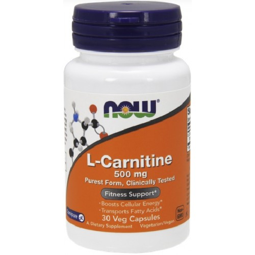 NOW L-Carnitina 500mg - 60 Capsule