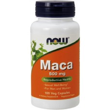 NOW Maca 500mg - 100 Capsule vegetale