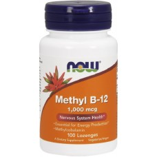 NOW Methyl B-12 1000mcg - 100 Tablete