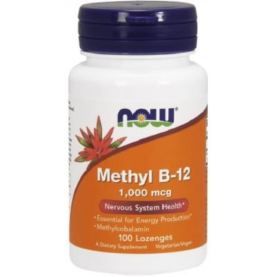 NOW Methyl B-12 1000mcg - 100 Tablete