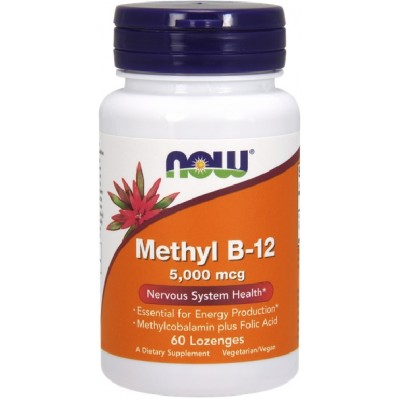 NOW Methyl B-12 5000mcg - 60 Tablete