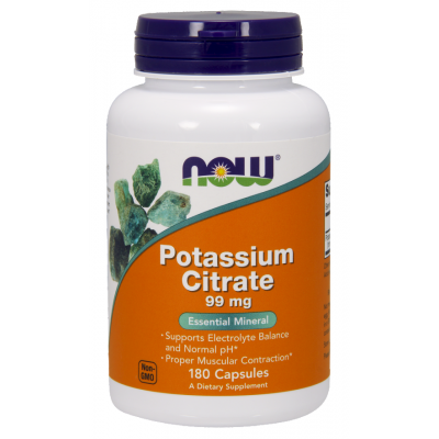 Now Potasiu Citrat - 180 capsule