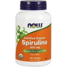 NOW Spirulina 500mg - 180 Tablete