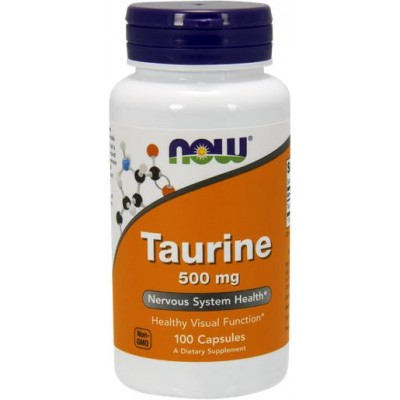 NOW Taurina 500mg - 100 Capsule