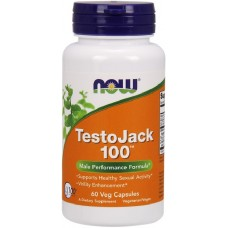 NOW TestoJack 100 - 60 Capsule vegetale