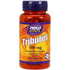 NOW Tribulus 500mg - 100 Capsule vegetale