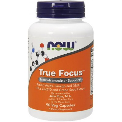 NOW True Focus - 90 Capsule vegetale