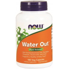 NOW Water Out - 100 Capsule Vegetariene