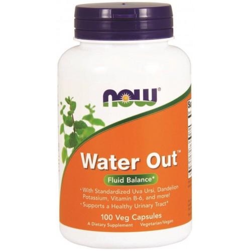 NOW Water Out - 100 Capsule Vegetariene