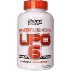 Nutrex Lipo 6 - 120 Capsule