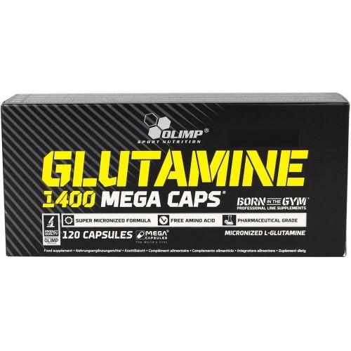 Olimp Glutamine 1400 Mega Caps - 120 capsule