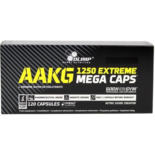 Olimp AAKG 1250 EXTREME Mega (Arginina Alfa-Ketoglutarata) - 120 Capsule