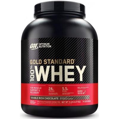 Optimum 100% Whey Gold Standard - 2.27 kg Double Rich Chocolate