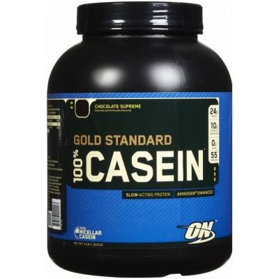 Optimum 100% Casein Gold Standard - 1.8 kg Ciocolata