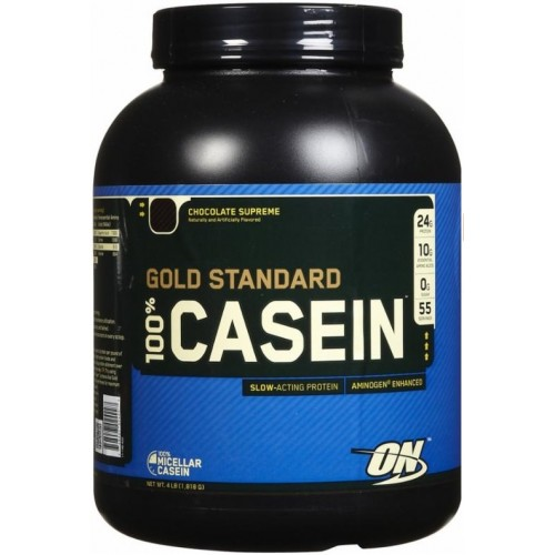 Optimum 100% Casein Gold Standard - 1.8 kg