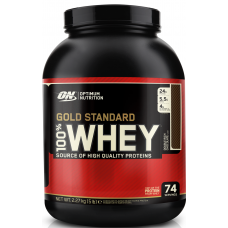 Optimum 100% Whey Gold Standard - 2.27 kg Double Rich Chocolate