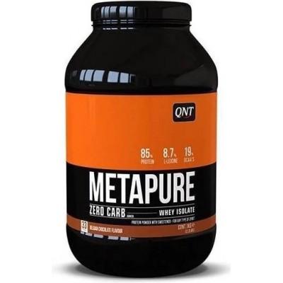 QNT Sports METAPURE ZERO Carb Isolate Whey Protein - 908g (Ciocolata)
