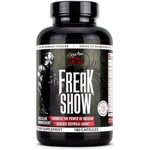 5% Nutrition Rich Piana Freak Show - 180 Capsule