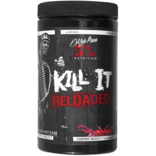 5% Nutrition Rich Piana Kill It Reloaded - 513g