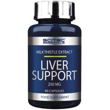 Scitec Liver Support Extrat de Silimarina 250mg - 80 Capsule