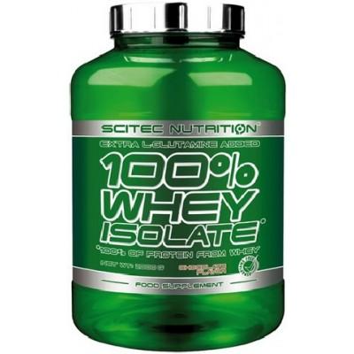 Scitec 100% Whey Isolate - 2000g Ciocolata