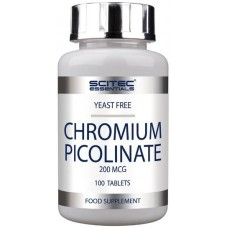 Scitec Chromium Picolinate - 100 Tablete